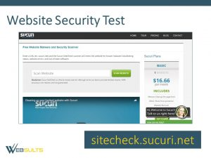 website security test