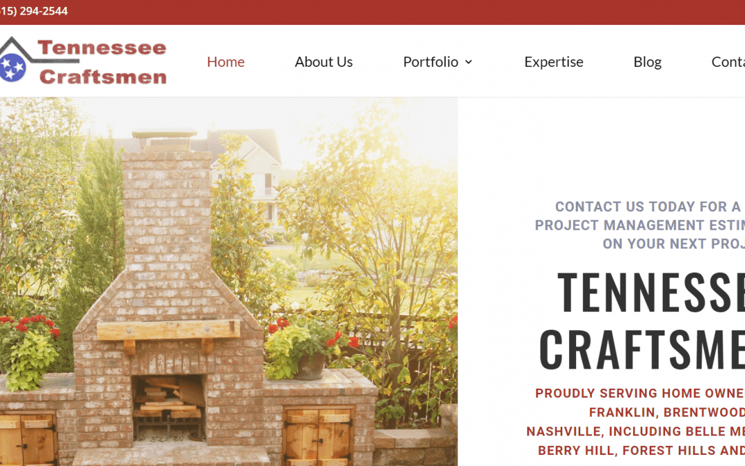 Websults Completes Site Redesign for Tennessee Craftsmen