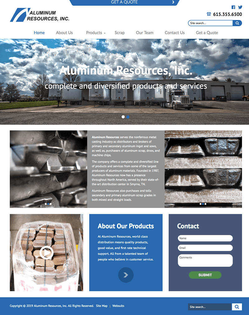 Aluminum Resources Website