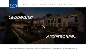 BDG Architects Home Page