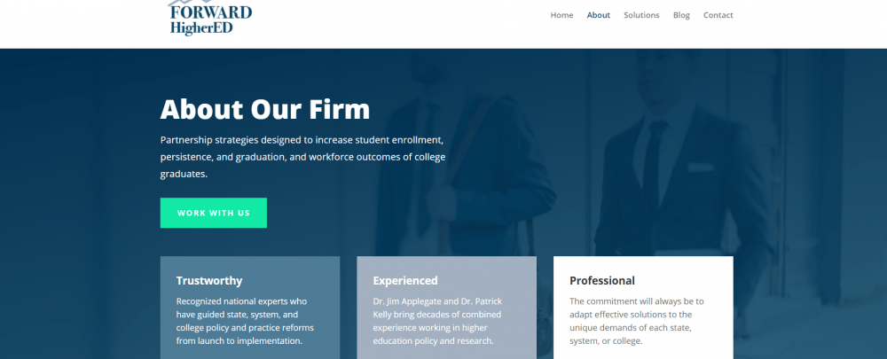 Websults Completes New Website for Forward HigherEd