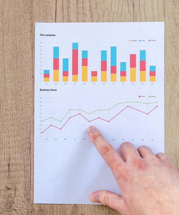 studying website analytics