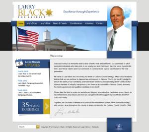 Larry Black Political Website