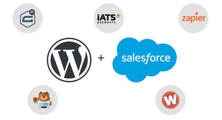Different Ways to Integrate Salesforce with Your WordPress Website