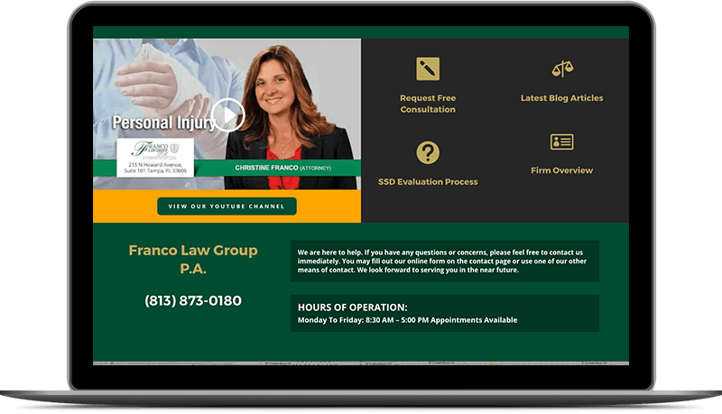 franco law website