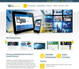 New Websults Responsive Website